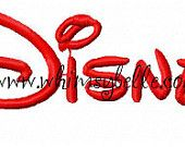 """Whimsy Belle---GREAT shop for Disney appliques. Great for birthdays 1"""" 2"""" and 3"""" Upper and Lower Case Letters and Numbers Alphabet Disney Satin Font Sewing Machine Embroidery Design fits hoop 4x4 and 5x7"""