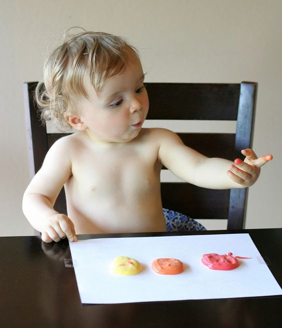 Homemade Edible Whipped Paints: Fall Scents from Fun at Home with Kids