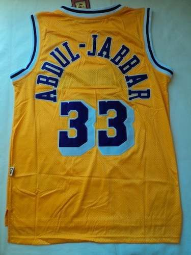 Camisa Nba Los Angeles Lakers Abdul-jabbar #33 - 21sports - R$ 159,90