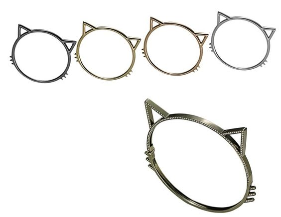 Aron apresenta novos anéis-desejo com shape de gatinho