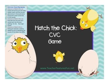 Hatch the Chick: CVC Game