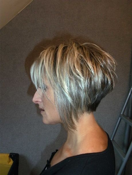Coupe Carr Court Plongeant Cheveux Pinterest Coupe Courte D Grad E Carr Plongeant Long
