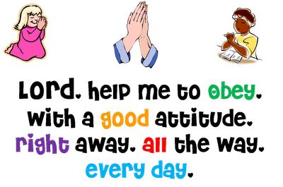 Love this obedience prayer printable from Totally Tots. Its definitely going on our Calendar Board!