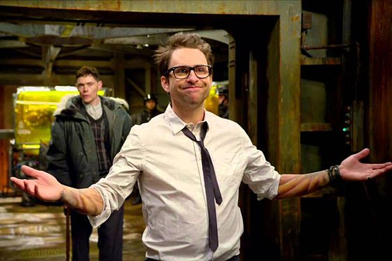 Charlie Day - 'Shep'  His role in Pacific Rim was so good and a really good glimpse at what he would be capable of as Shep. #Shep #solidintangibles @kadedavies