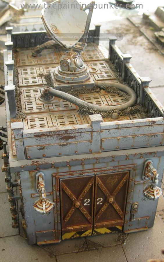 Forgeworld model game terrain models pinterest for Decor 40k