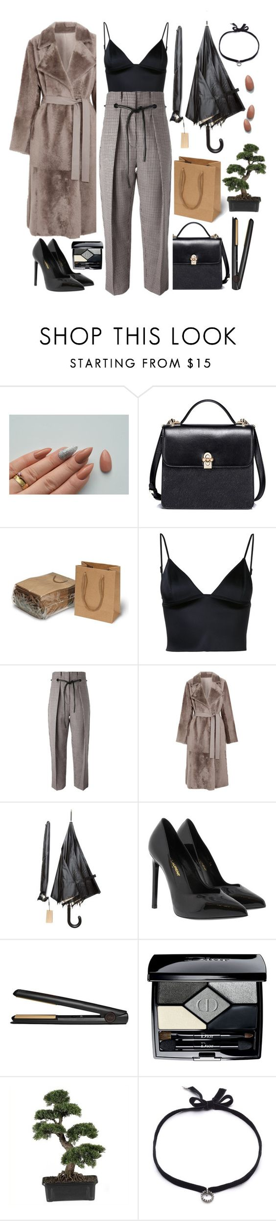 """""""Words do not define us"""" by missdee-93 on Polyvore featuring T By Alexander Wang, 3.1 Phillip Lim, Yves Salomon, Burberry, Yves Saint Laurent, GHD, Christian Dior, Nearly Natural and DANNIJO"""
