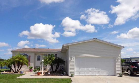 Love That Attached Garage Palm Harbor Manufactured Home