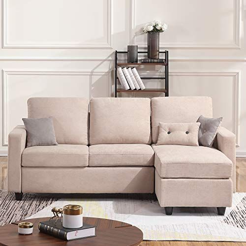 Beige 3 Piece Sectional Sofa With Laf Chaise Pisces With Images