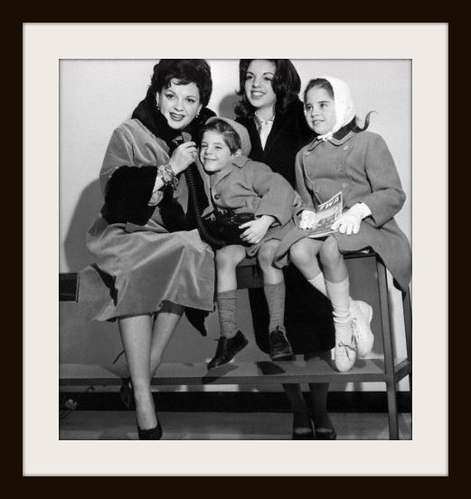Saluting famous moms on Mothers Day...Judy Garland with Liza, Lorna and Joey………………..For more classic 60's and 70's pics please visit & like my Facebook Page at https://www.facebook.com/pages/Roberts-World/143408802354196
