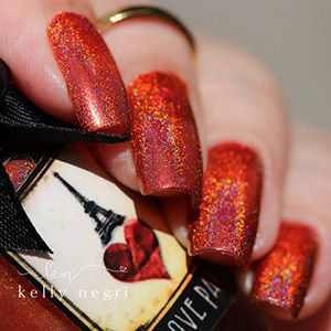Esmaltes da Kelly- I Love Paris- Mon Cheri