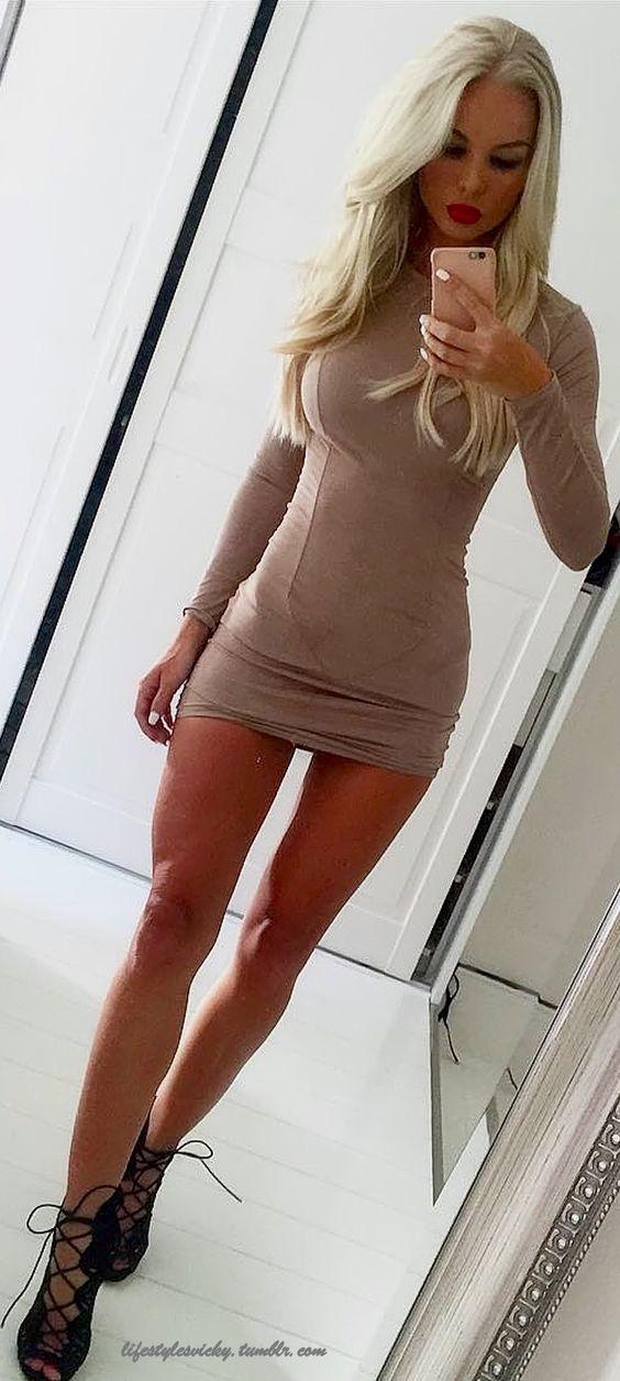 Cross Dresser Short Skirt And Long Leg S 26