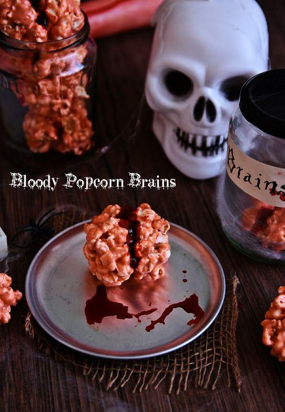 Bloody Popcorn Brains!