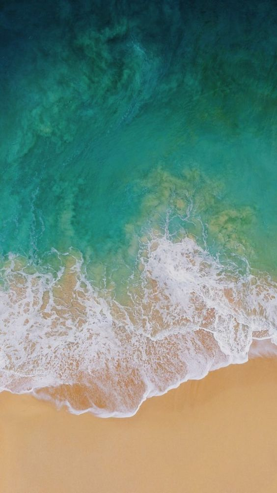 Download The New Ios 11 Wallpaper For Iphone Beach Wallpaper