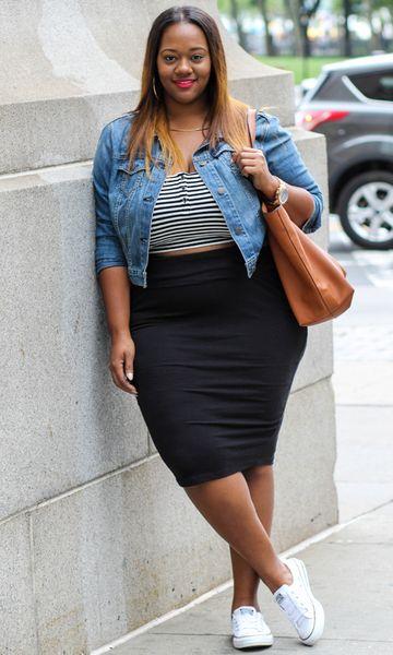 Looks plus size com tênis: dicas de como usar o calçado no dia a dia, para balada, trabalho e muito mais! - JUROMANO.COM