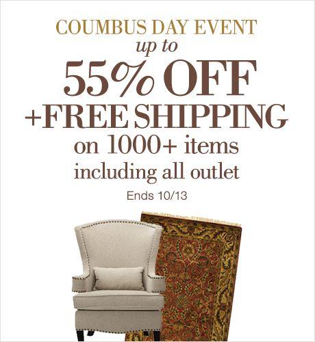 Homedecorators Columbus Day Event