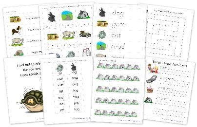 Angus Lost book go-along printables