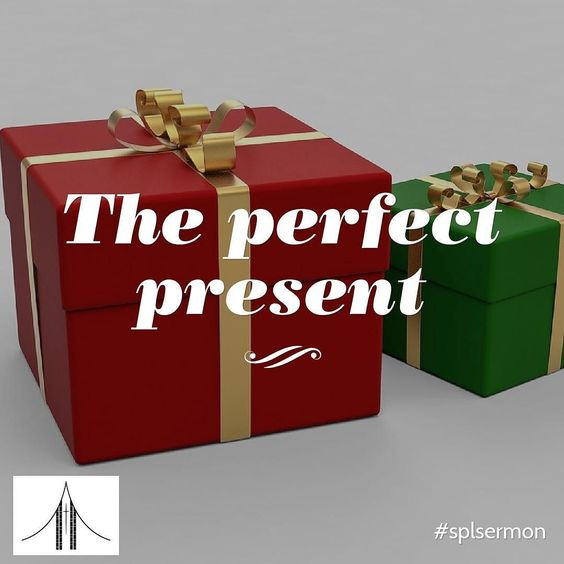 Jesus is the gift that perfectly fits the size of every heart. #splsermon