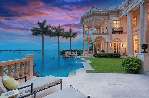 Pinterest the world s catalog of ideas - Big mansions with pools on the beach ...