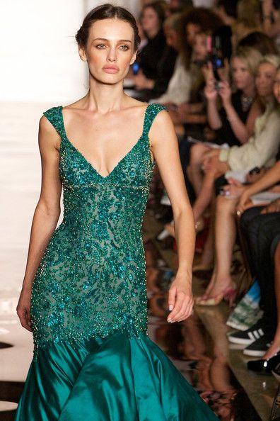 Evening Sherri Hill - Runway - Spring 2012 Mercedes-Benz Fashion Week - Pictures - Zimbio