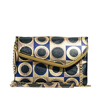 The Zara in geo print from Hobo Bags! My alltime favorite little wristlet/clutch/evening bag... and I love this print!!!: