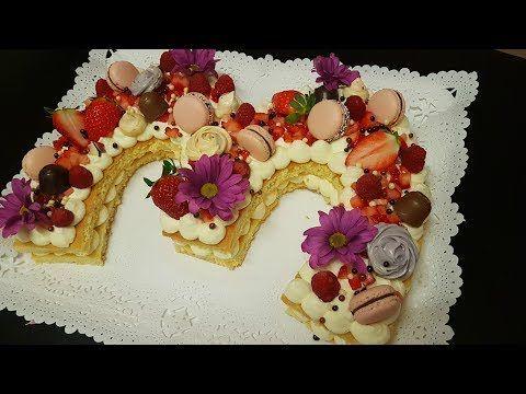 حلوى الارقام نامبر كيك Number Cake موضة حلويات اعياد الميلاد و المناسبات لسنة Gateau Tendance2018 Youtube Cake Food Desserts