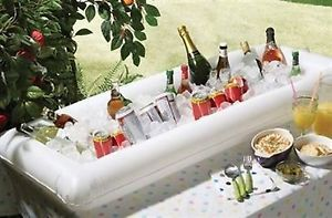 Inflatable Drinks Cooler Chiller Large Ice Cold Bar Outdoor Garden Parties Party