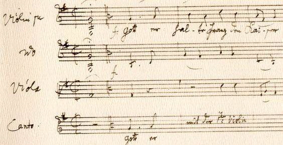 emperor's anthem by Joseph Haydn - over 200 years anthem of Austria, taken by Germany after WW 2