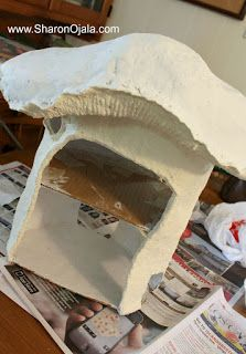 Homemade Obsessions: Mushroom House Project and Gnomey Has been Found!: