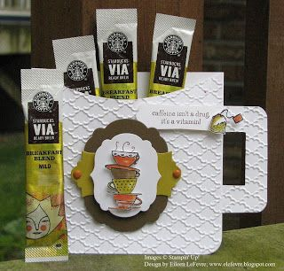 coffee cup with Via coffee packs - bjl