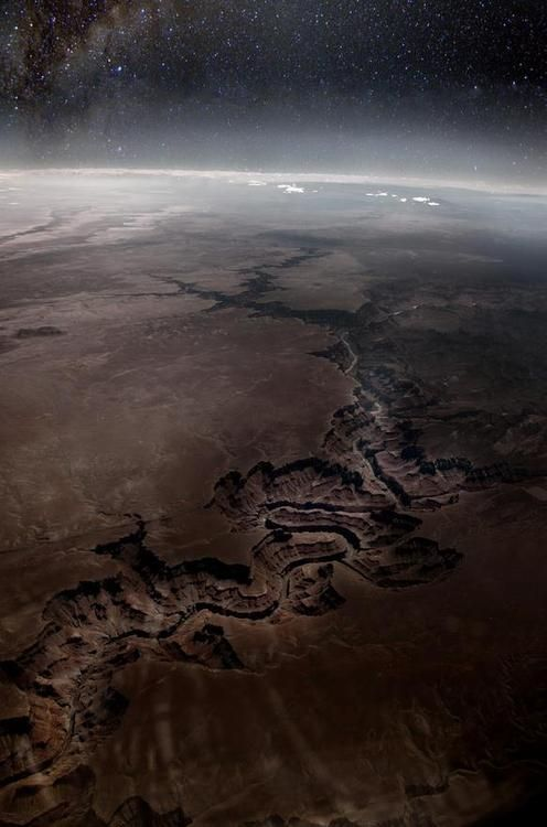 Grand Canyon from Space - Travis Odgers