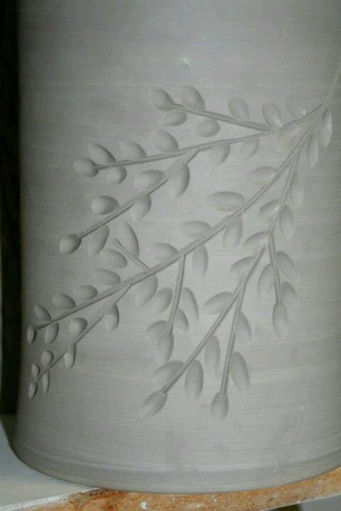 Beautiful carving pottery techniques and tools