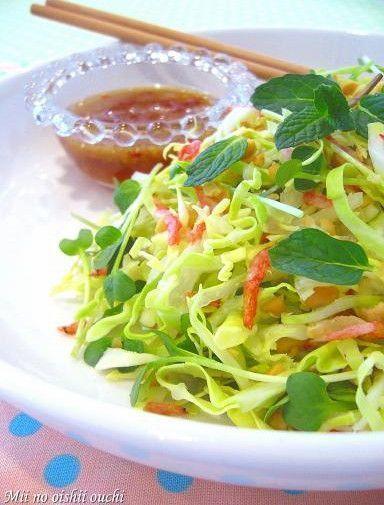 たっぷりキャベツのベトナム風サラダ♪ by みぃさん   レシピブログ ...