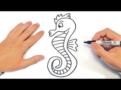 Como Dibujar Un Caballito De Mar Paso A Paso Youtube Caballito De Mar Como Dibujar Un Caballo Caballito De Mar Dibujo