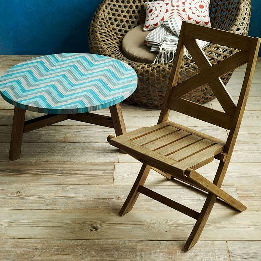 Jardine Folding Chair, Set of 2
