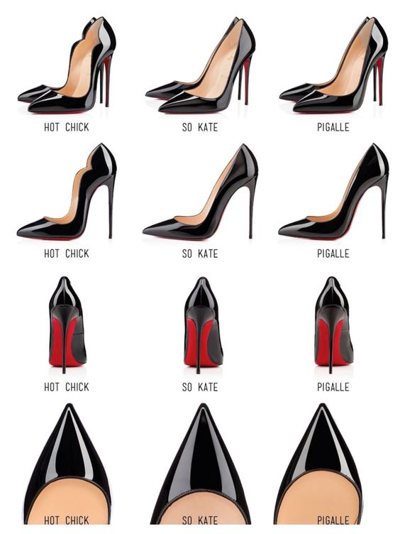 Christian Louboutin So Kate, Pigalle, & Hot Chick