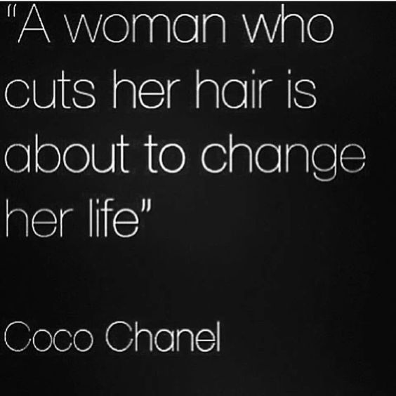 If you are about to do the 'Big Chop' you are a brave soul and I commend you.  I did it and to be honest it bothered me...for a hot minute:-)