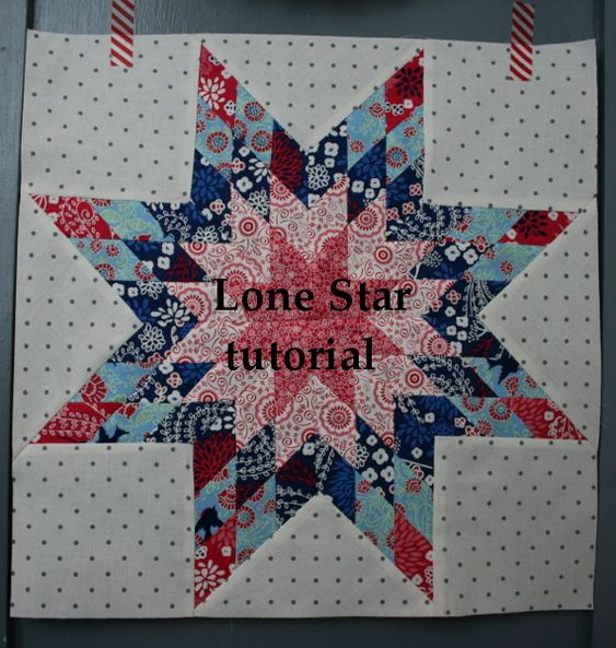 Lone Star Quilt Strip 10