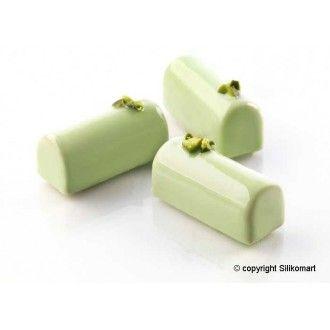 Molde mini buche.Molde de silicona para bombones o pequeños bocados.  Molde de 30 cavidades, cada cavidad tiene una capacidad de 14 ml. Medida de cada cavidad: 5 x 2 x 2 cm