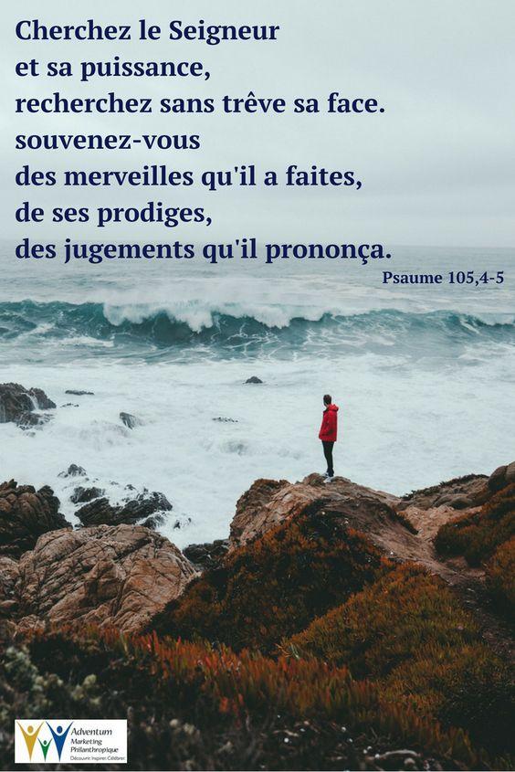 22 mars 2018 – Psaume 105,4-5