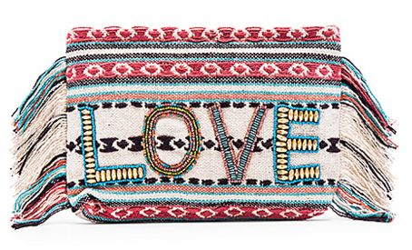 Chic love clutch