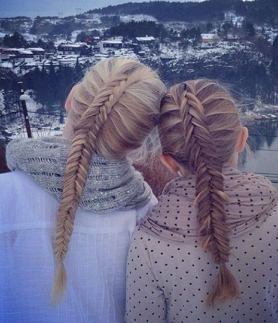Wondrous Inside Out Braids And Winter On Pinterest Hairstyle Inspiration Daily Dogsangcom