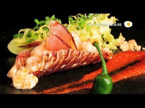 ▶ Receta de Langosta a la americana en Cocina Afrodisíaca - YouTube