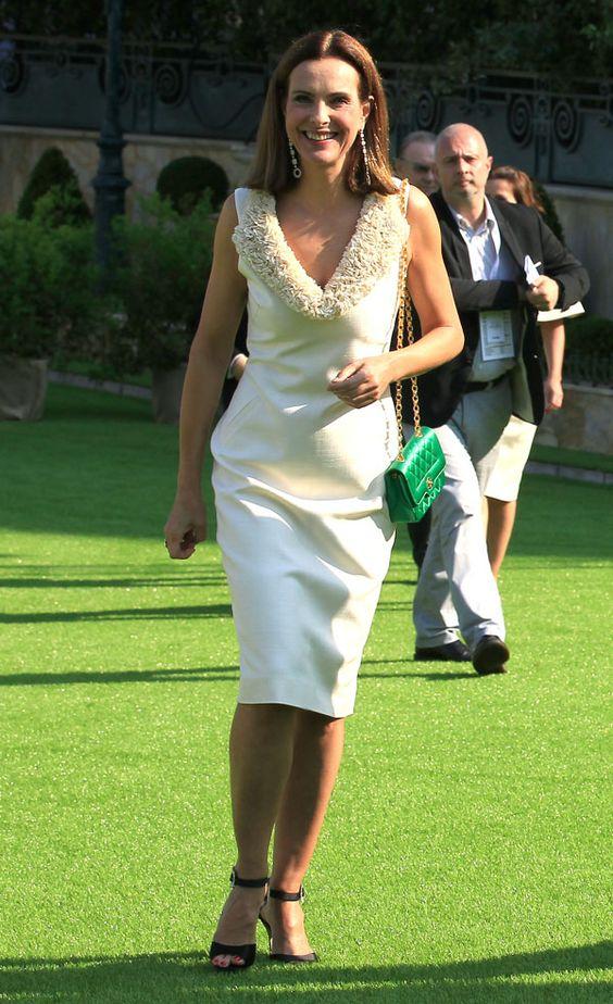 Tras conocerse el embarazo de Carlota de Mónaco, Charlene Wittstock reaparece en el la vida social del principado con su marido el príncipe Alberto