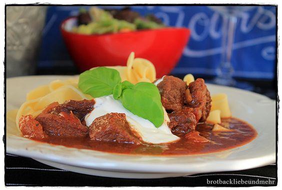 brotbackliebeundmehr - Foodblog - Italienisches Rinderragout