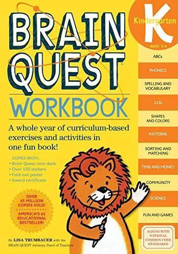 Download Pdf Brain Quest Workbook Kindergarten Full Download Get Here Https Jadulmlubur Blogspot Com Kindergarten Workbooks Workbook Vocabulary Workbooks Free kindergarten workbook pdf