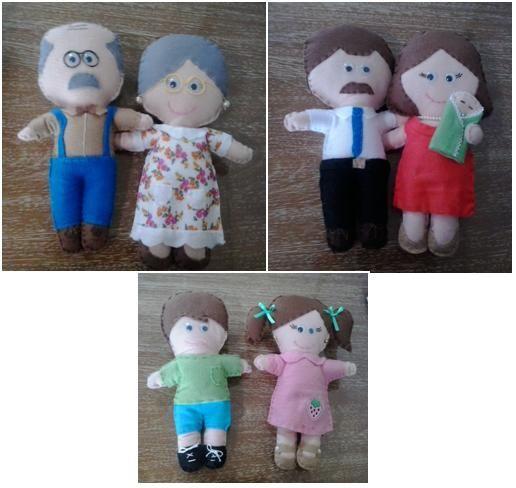 Família Terapêutica - Bonecos Flexíveis