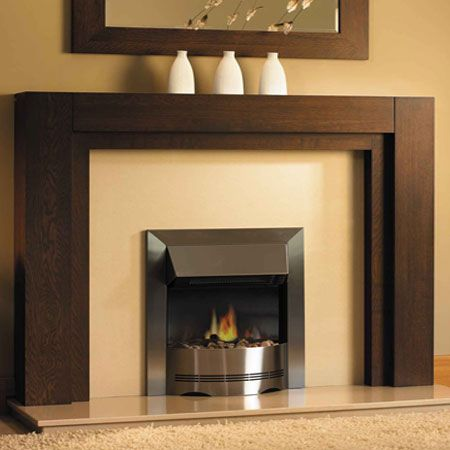 Modern fireplace mantels and surrounds clifford 39 s for Wood fireplace surround designs
