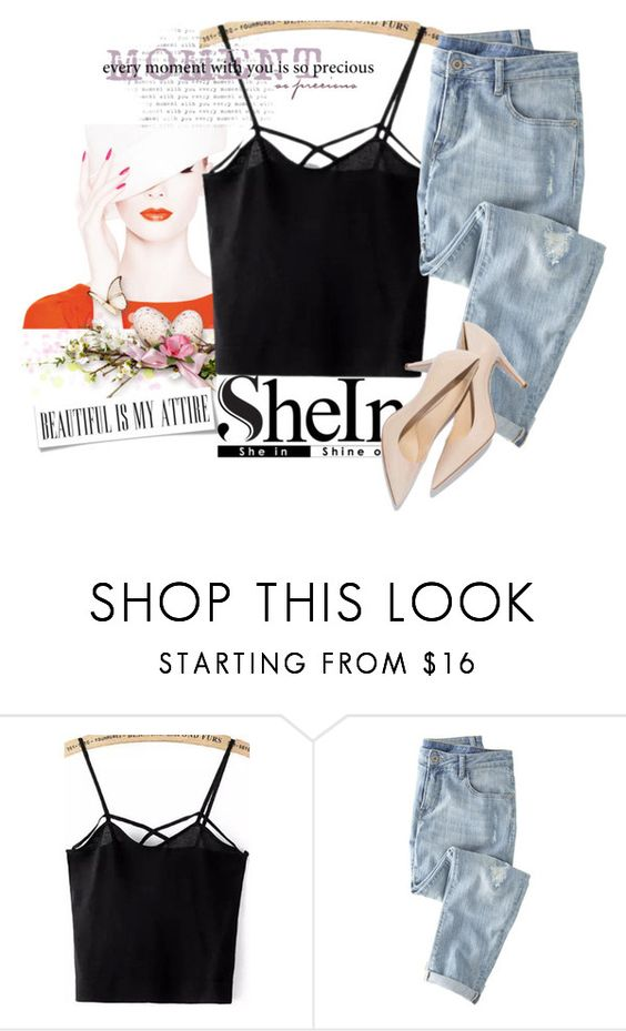 """""""SheIn contest"""" by eddy-smilee ❤ liked on Polyvore featuring Wrap"""