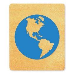 Globe #2- XL; IMC Die Cut 040