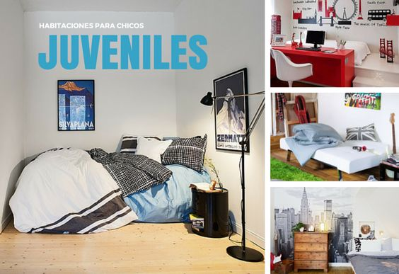 10 fotos de habitaciones juveniles para chicos fotos - Imagenes de habitaciones juveniles ...